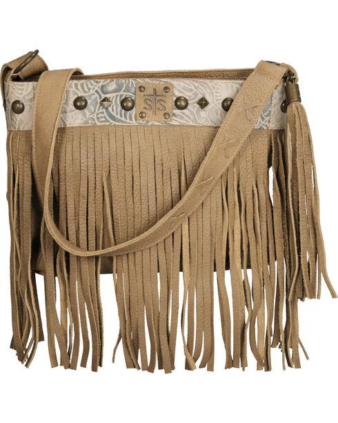 STS Ranchwear Lila Buckskin Crossbody Bag, Tan, hi-res