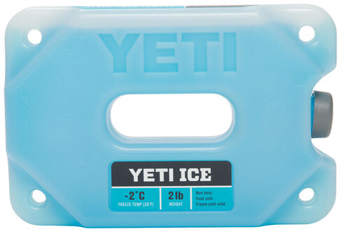 YETI Ice Two-Pound Ice Pack , Blue, hi-res