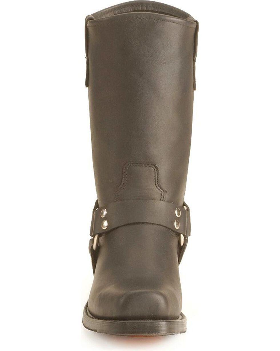 Double H Black Harness Boots, Black, hi-res