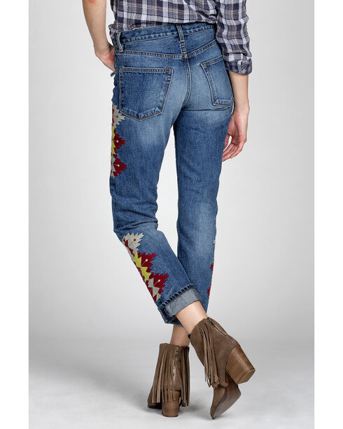 MM Vintage Women's Jane Boyfriend Jeans , Indigo, hi-res
