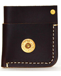 SouthLife Supply Men's Mason Plum Front Pocket Card Holder, Dark Brown, hi-res