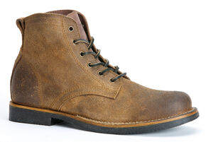 Frye Roland Lace-Up Suede Boots, Tan, hi-res