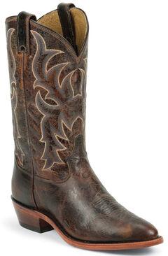 Tony Lama Men's Americana Leather Western Boots - Round Toe, , hi-res