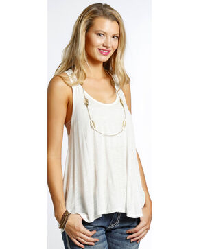 Panhandle Women's Swing Tank , White, hi-res
