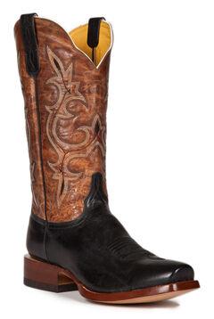 Cinch Men's Galaxias Gold Goat Western Boots - Square Toe, , hi-res