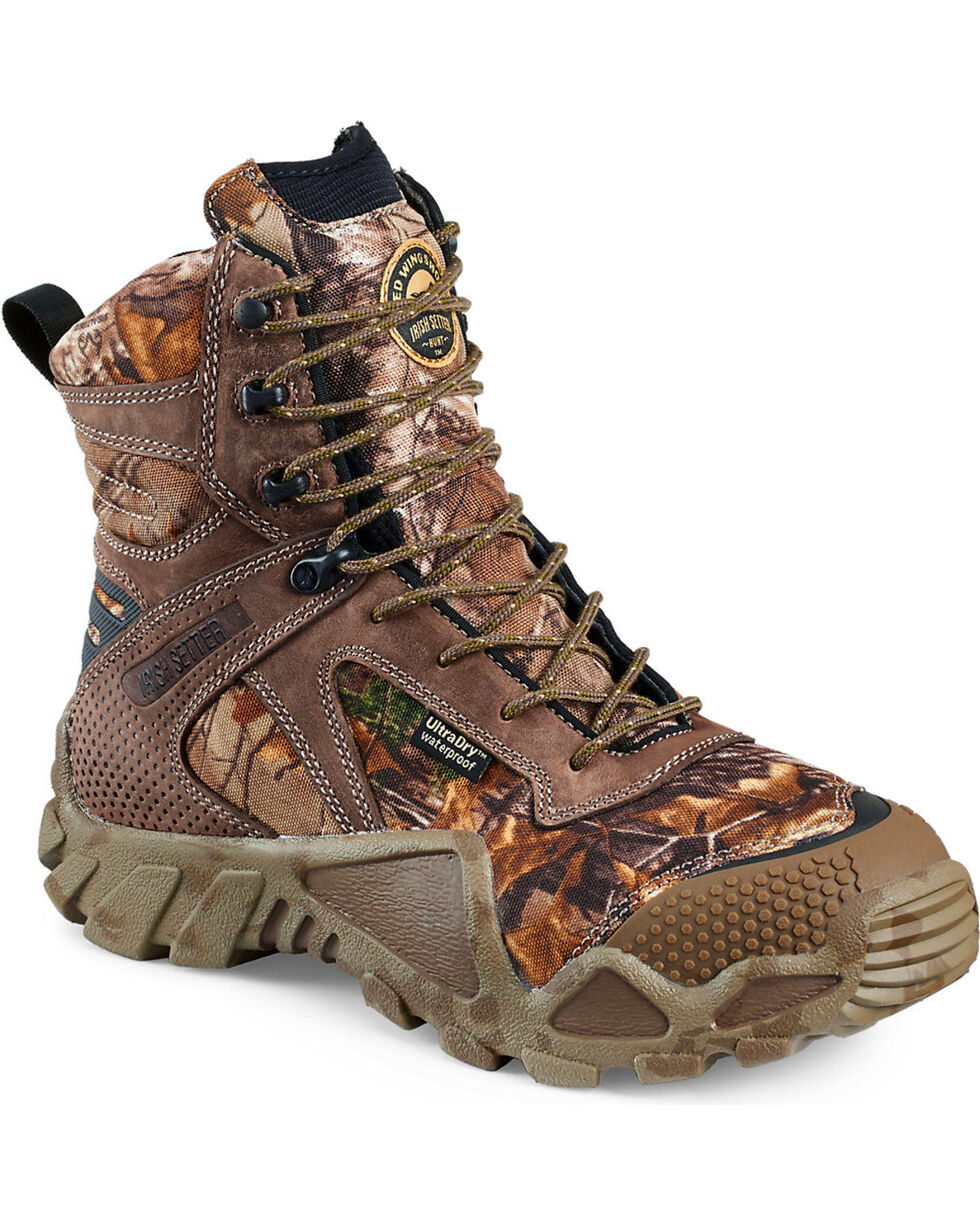 Irish Setter by Red Wing Shoes Men's Vaprtrek Realtree Xtra Waterproof Boots , Camouflage, hi-res