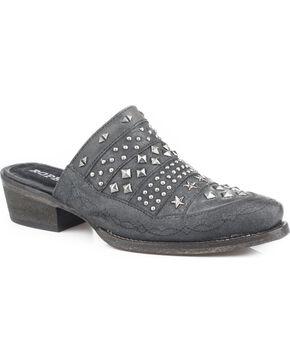 Roper Women's Starlet Western Slip-On Shoes , Black, hi-res
