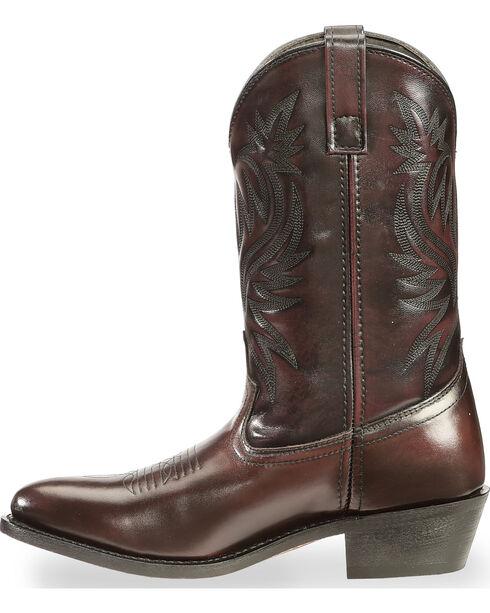 Laredo Basic Cowboy Boots, Black Cherry, hi-res
