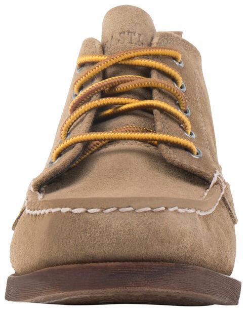 Eastland Men's Khaki Suede Seneca Camp Moc Chukka Boots, Tan, hi-res