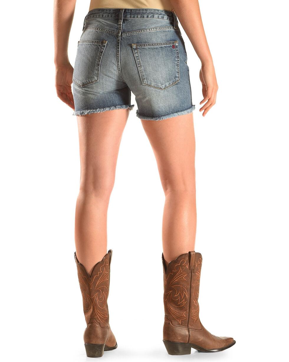 MM Vintage Women's Cutoff Shorts, Indigo, hi-res