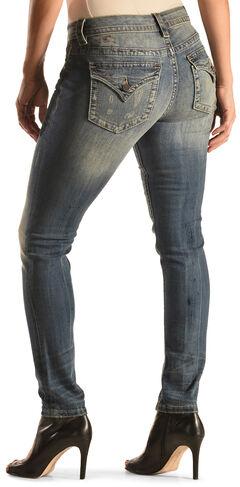 Miss Me Women's Simple Boundaries Skinny Jeans , , hi-res