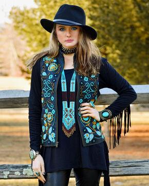 Tasha Polizzi Women's Empress Vest, Black, hi-res