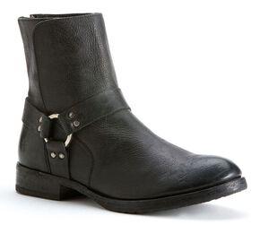 Frye Men's Dean Harness Boots, Black, hi-res