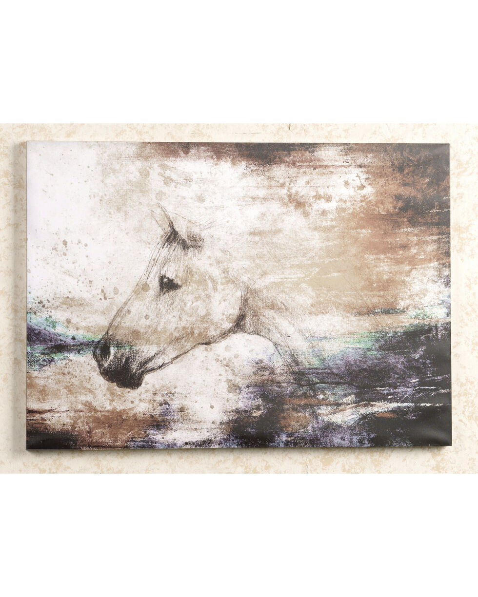 BB Ranch Sketch Horse Wall Decor, No Color, hi-res