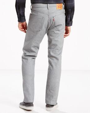 Levi's Men's 501 Original Fit Straight Leg Jeans , Silver, hi-res