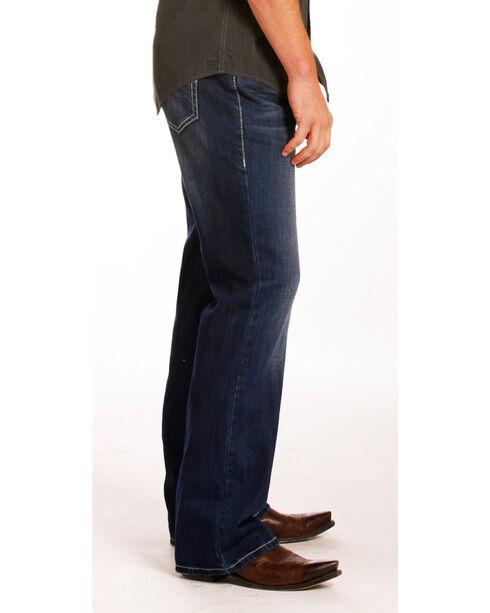 Rock & Roll Cowboy Men's Indigo Double Barrel Jeans - Boot Cut , Indigo, hi-res