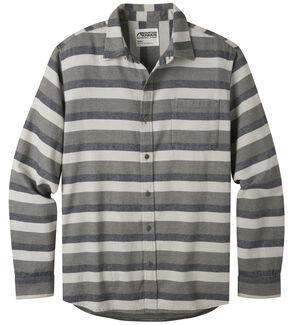 Mountain Khakis Men's Navy Fall Line Flannel Shirt , Navy, hi-res