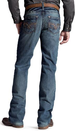 Ariat Men's M6 El Dorado Gambler Jeans, Denim, hi-res