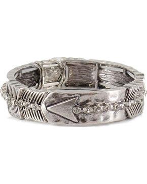 Shyanne Women's Arrow Bracelet, Silver, hi-res