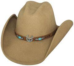 Bullhide Winning It All Wool Cowgirl Hat, Camel, hi-res