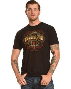 Moonshine Spirit Men's Black Pot Mash Graphic T-Shirt , Black, hi-res