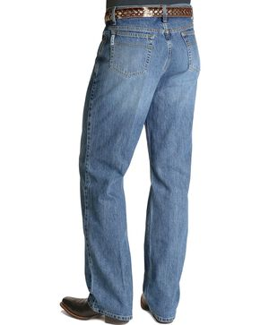 Cinch® White Label Mid-Rise Jeans, Stonewash, hi-res