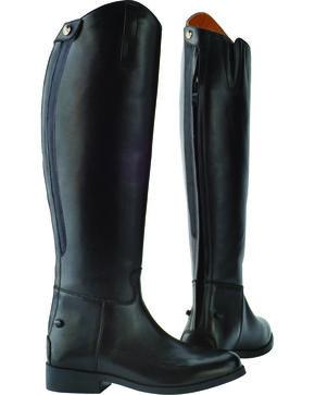 Saxon Women's Equileather Dress Boots, Black, hi-res