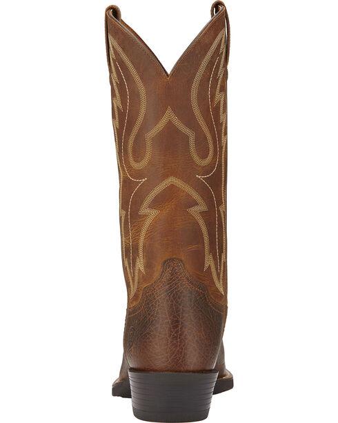 Ariat Sport Western Cowboy Boots - Medium Toe, Earth, hi-res