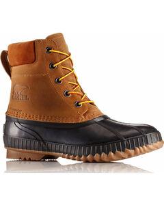 Sorel Men's Tan Cheyanne II Lace Duck Boots - Round Toe , Tan, hi-res