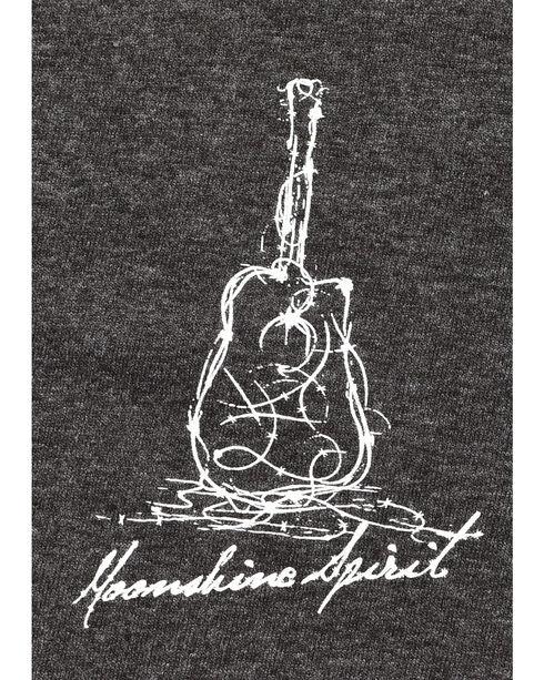 Moonshine Spirit Barbed Guitar Graphic Tee, Charcoal, hi-res