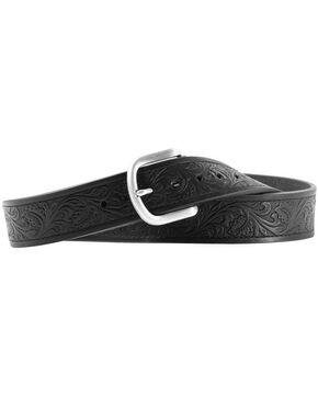 Ariat Holden Tooled Belt, Black, hi-res