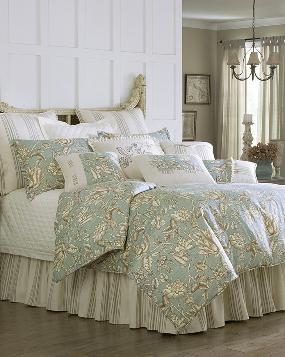 HiEnd Accent Multi Gramercy Four Piece King Comforter Set , Multi, hi-res