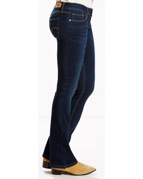 Levi's Women's 524 Northpeak Jeans - Boot Cut , Indigo, hi-res