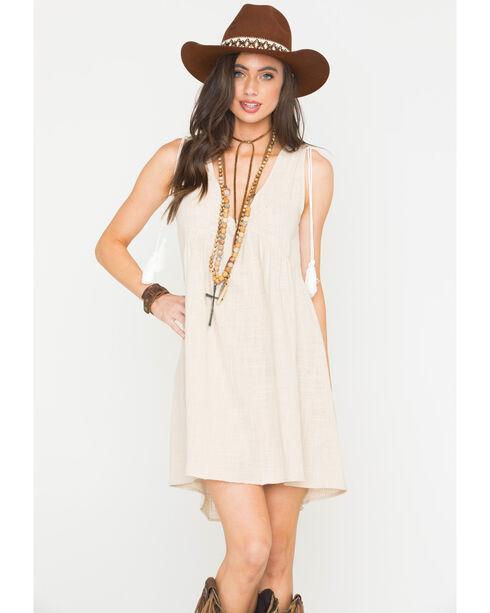 Sage the Label Women's Sofia Dress, Light Grey, hi-res
