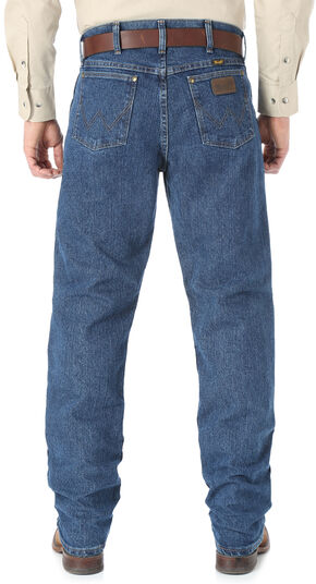 Wrangler Premium Performance Cool Vantage Cowboy Cut Regular Fit Jeans, Dark Stone, hi-res