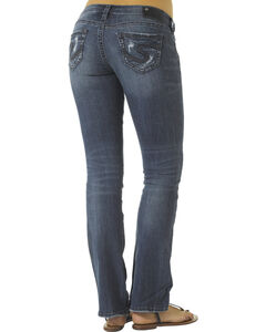 """Silver Tuesday Open Pocket Bootcut Jeans - 33"""" Inseam, Denim, hi-res"""