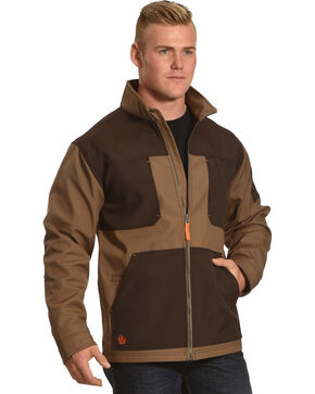 American Worker Men's Brace Canvas Jacket - Tall , , hi-res
