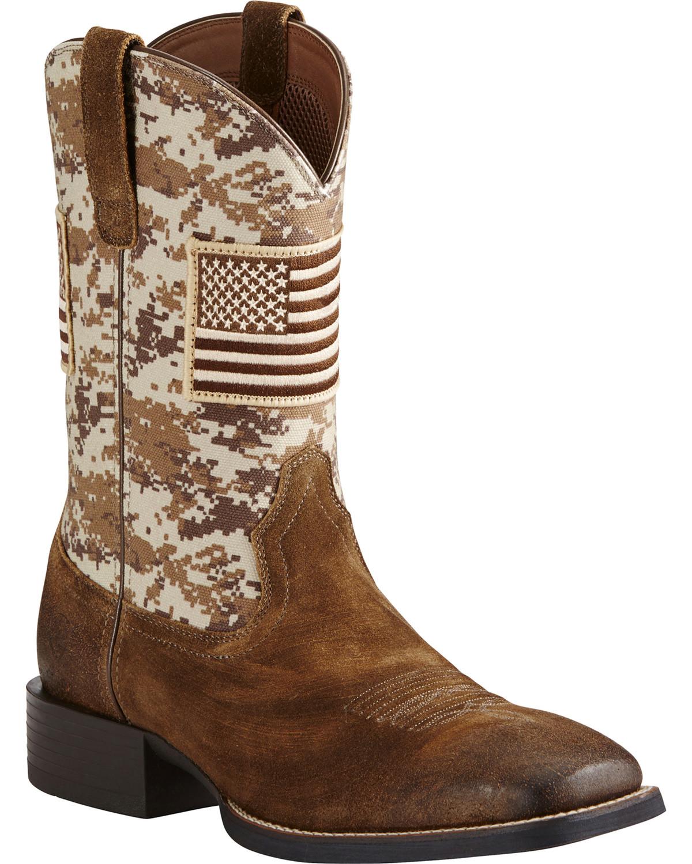 White Cowboy Boots Mens Shoes