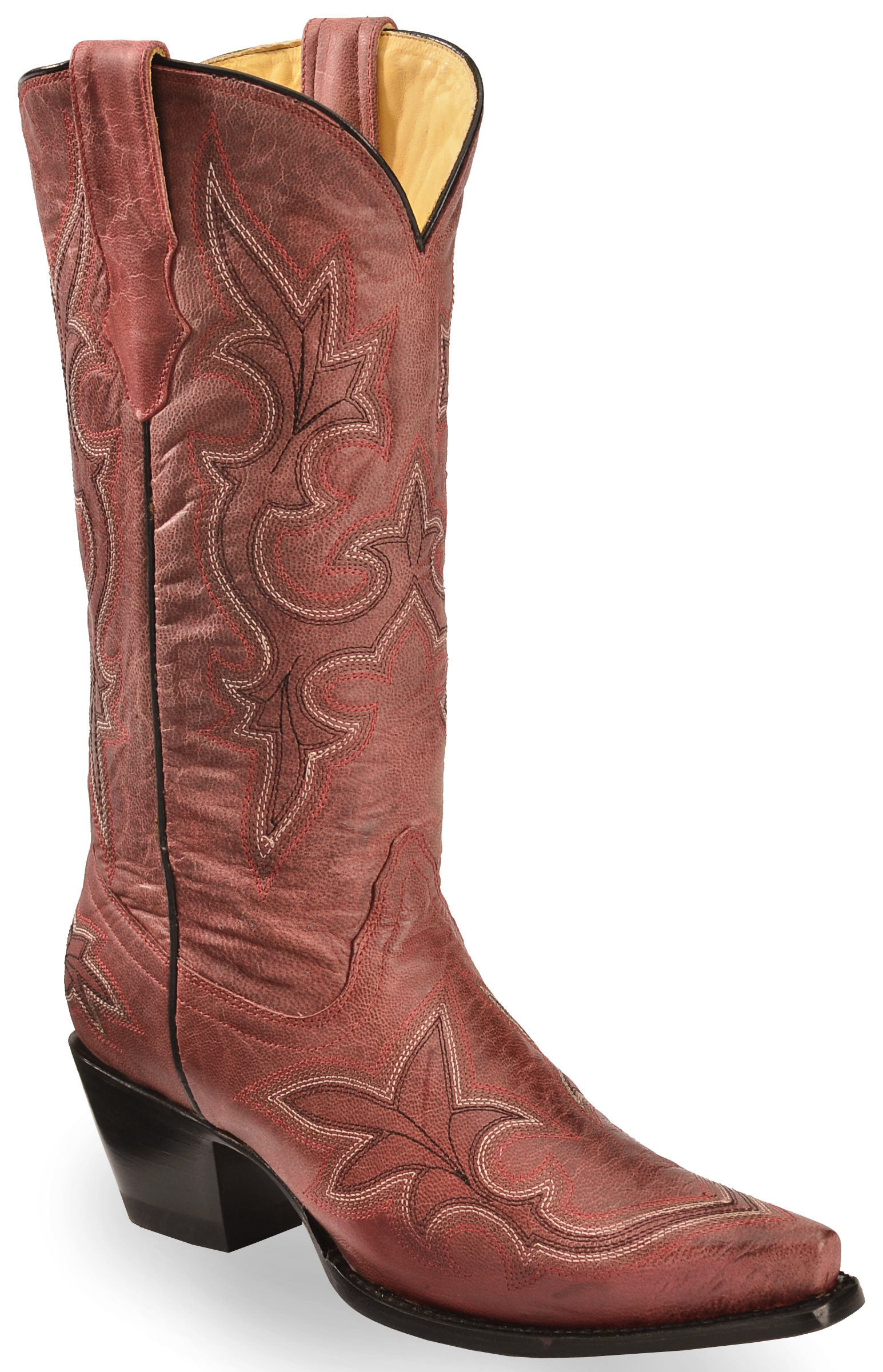 Corral Women's Vintage Leather Western Boots - Snip Toe - Country ...