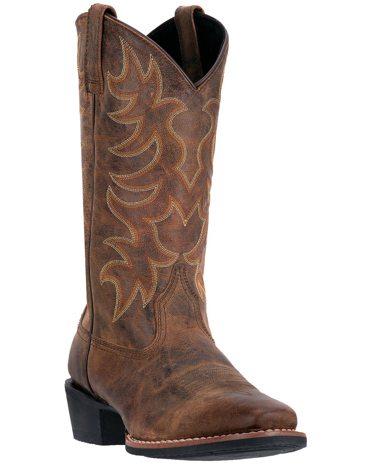 Laredo Goatskin Leather Cowboy Boots - Square Toe - Country Outfitter