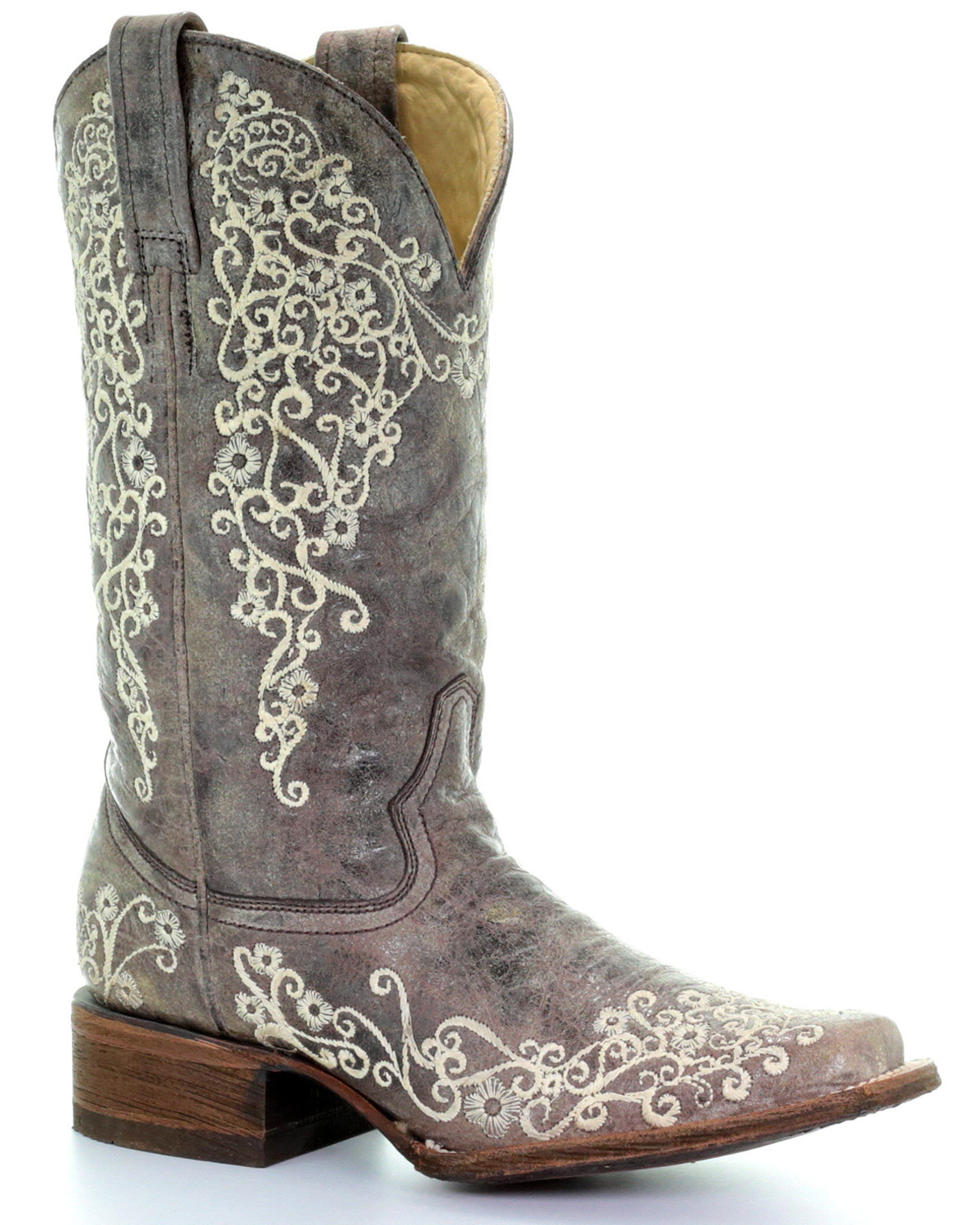 Perfect Corral Brown Fish Riding Boot - Womenu0026#39;s Shoes | Buckle | Western Style | Pinterest | Fish Brown ...