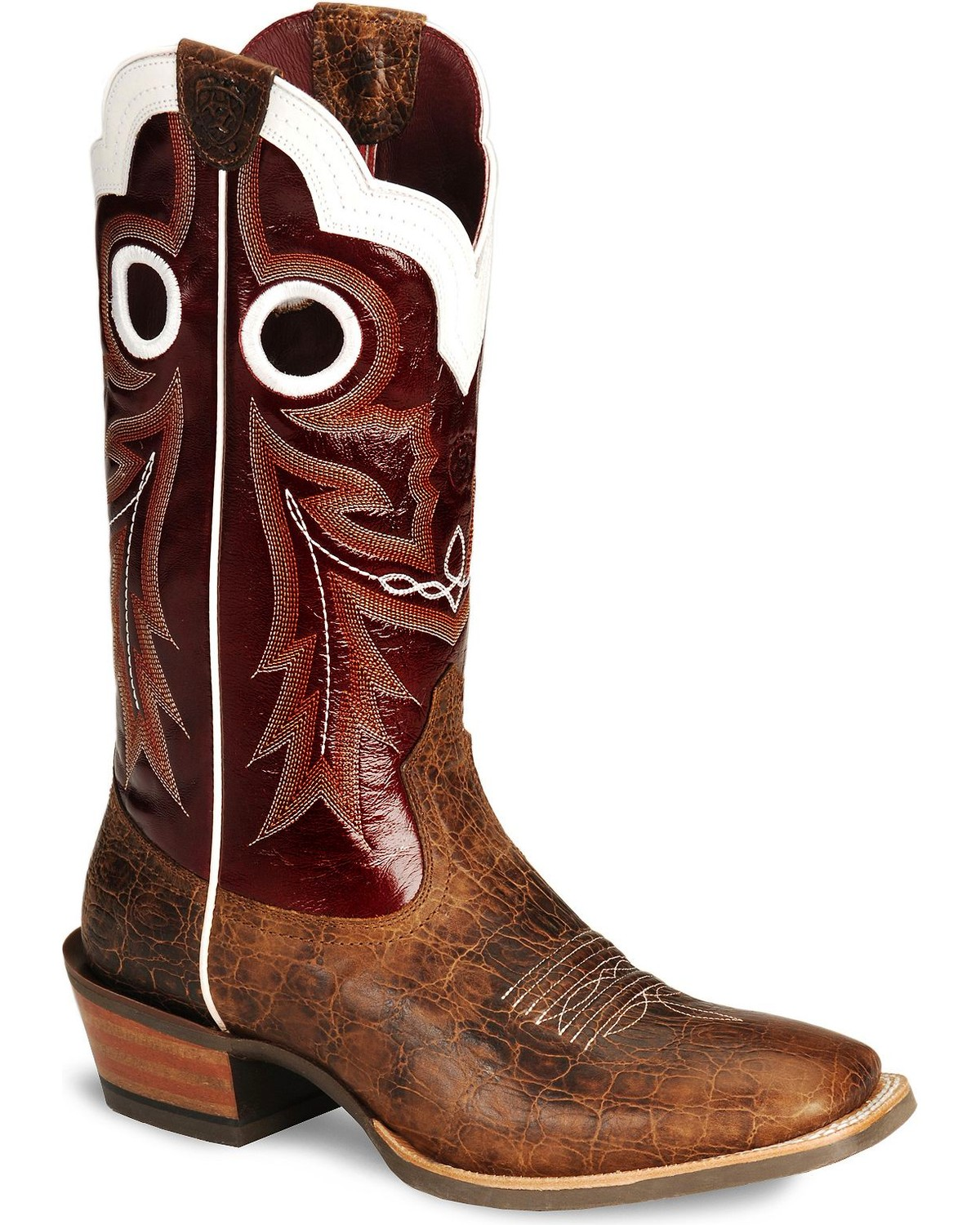 Ariat Wildstock Cowboy Boots - Wide Square Toe - Country Outfitter