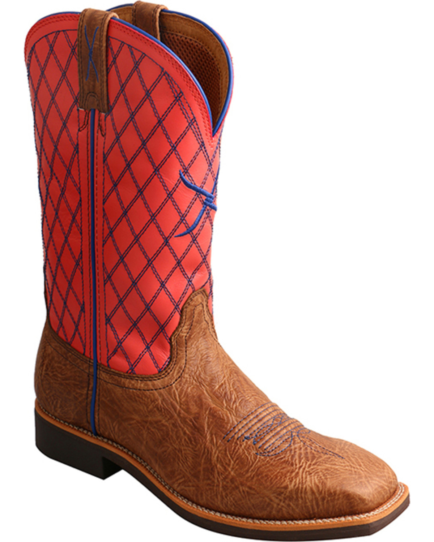 Wonderful Twisted X Womens Western Boots In Bomber Leather - Koolstuff Australia