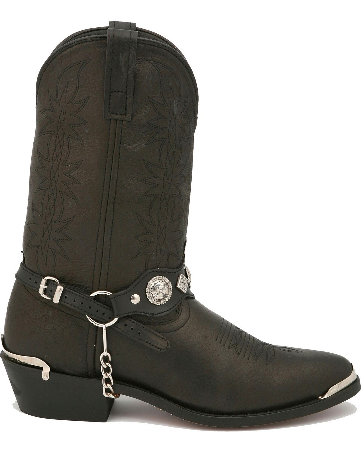 Dingo Concho Harness Cowboy Boots - Country Outfitter