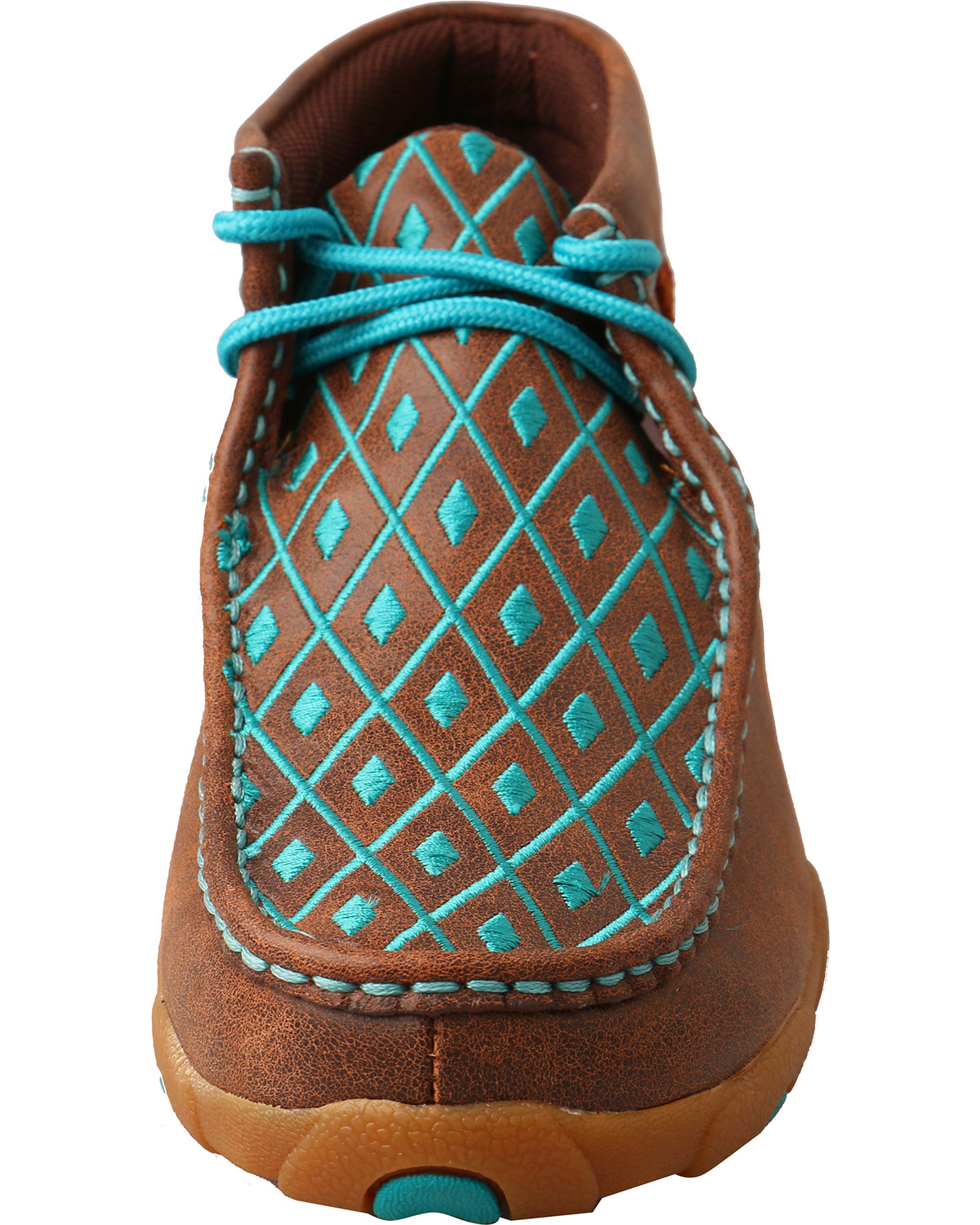 Perfect Twisted X Womenu0026#39;s Solid Brown Driving Mocs - Country Outfitter