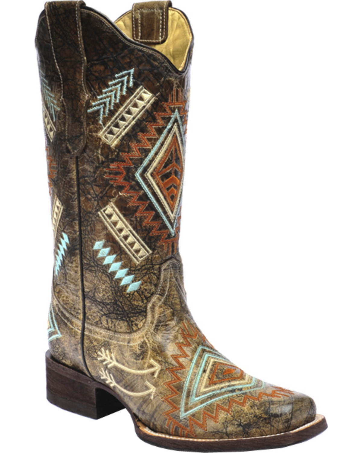Luxury Corral Womenu0026#39;s White Glitter Inlay Western Boots | Boot Barn