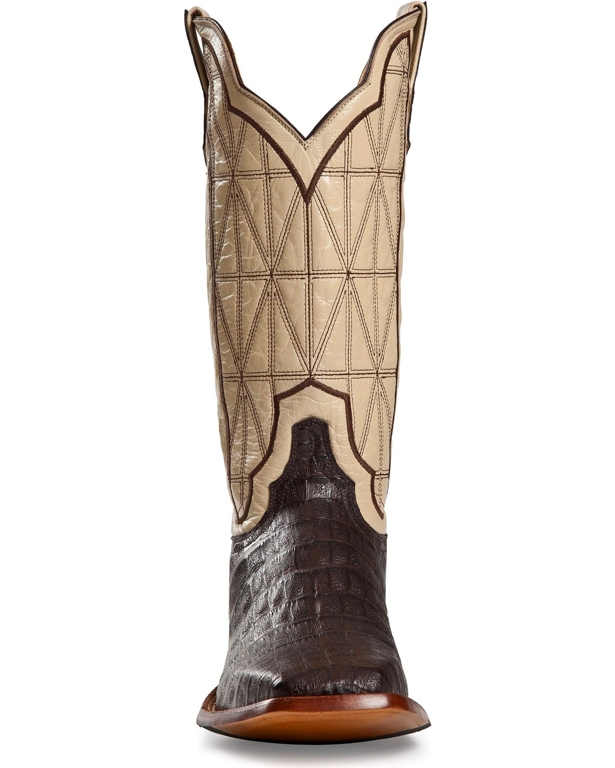 Cinch classic caiman stained glass cowboy boots square toe cinch classic caiman stained glass cowboy boots square toe cigar hi res floridaeventfo Images