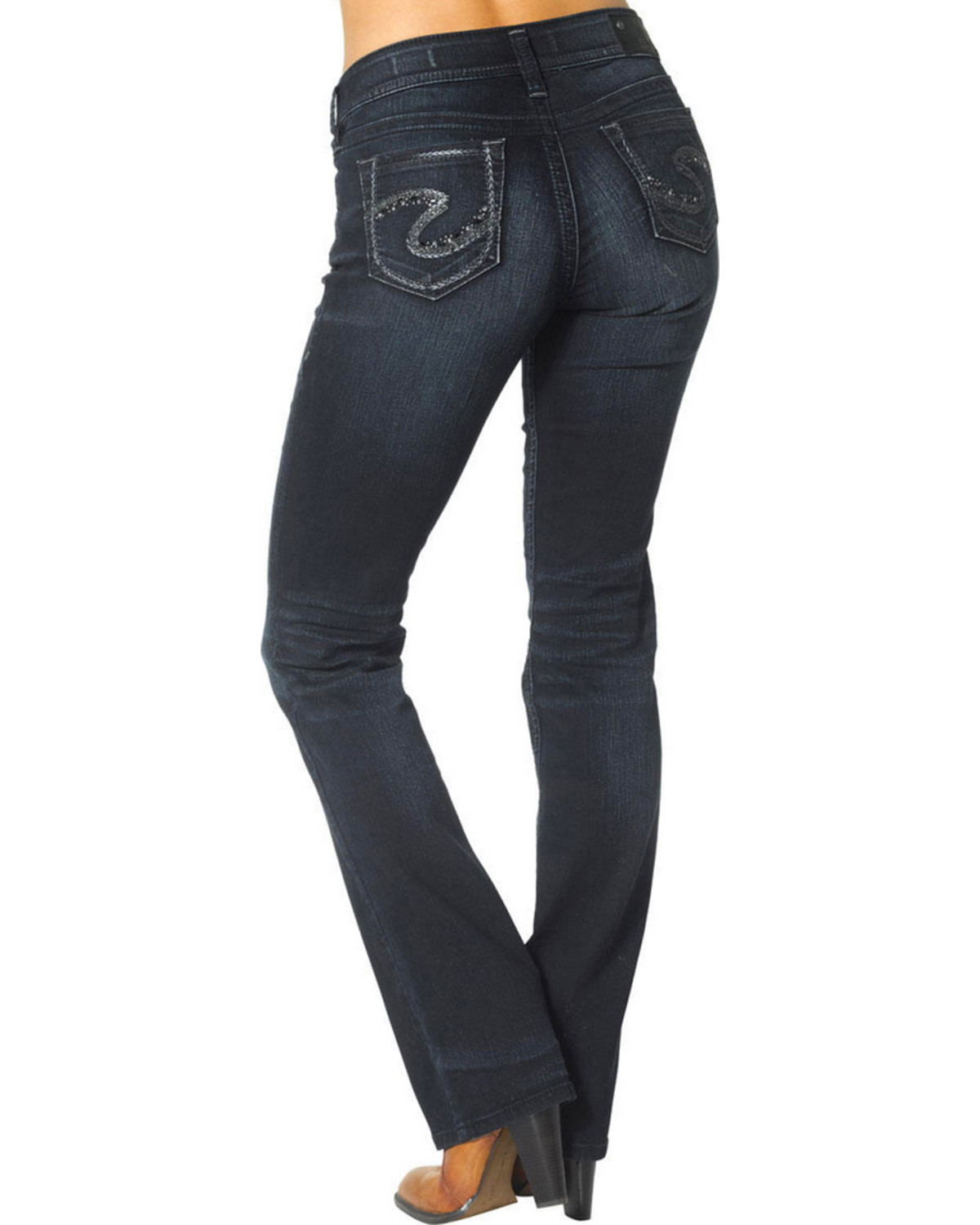 Silver Jeans Women's Suki Mid Slim Boot Cut Jeans - Country Outfitter