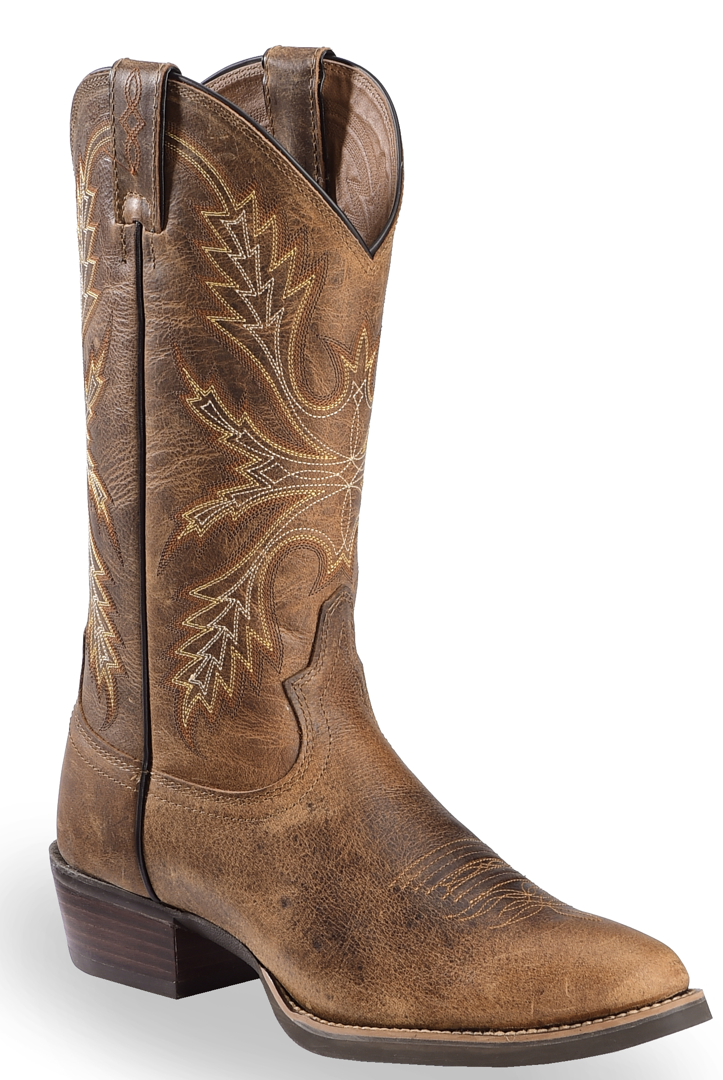 Men's Round Toe Boots - Country Outfitter