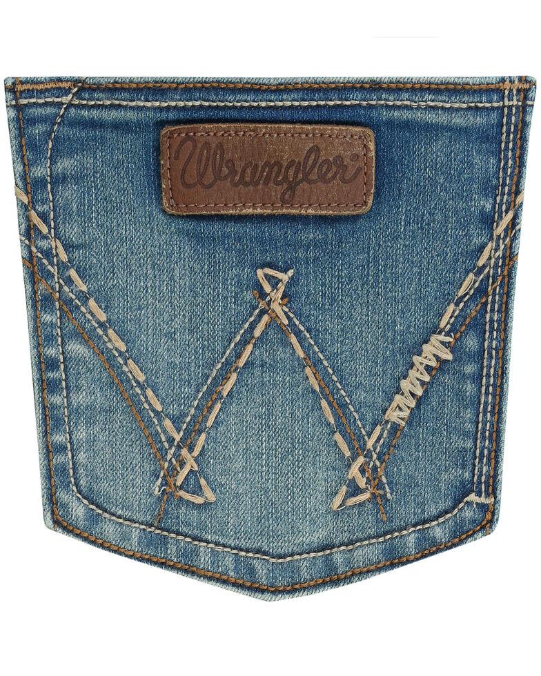 Wrangler Retro Women's Sadie Boot Cut Jeans, Indigo, hi-res